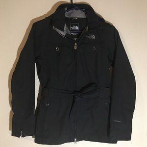 The North Face Women's Black Waist Tie Jacket XS